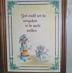 Antique Sign for Mothers